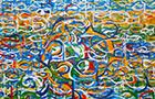 L'Incontro - 2014, acrilico su tela, cm 200x150
