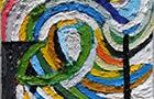 NovaPictura 3 - 2014, olio su tela, cm 25x20