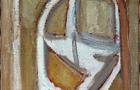 Dall'alto vedo terra, 1987, olio su tela, cm 50x40