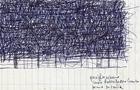 Bozzetto Groviglio Urbano - 2000, Penna su carta