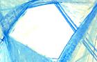 Bozzetto Composizione e forma 3 - 1989, pastelli ad olio su carta, cm 29,5x21
