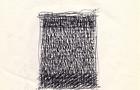 Bozzetto Campo - 1990, penna su carta, cm 21x29,5