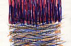 Bozzetto Campo - 1990, pennarelli a tempera acrilica e penna su carta su carta, cm 14,8x21,5