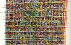 Bozzetto Vedo fiori - 1991, pennarelli a tempera acrilica su carta, cm 24x33