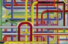 Tubature Sonore nascono - 2009, computer grafica, cm 80x100