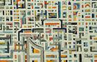 Città senza soste - 2006, olio su tela, cm 60x70