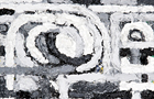 Il percorso 3 - 2012, olio su tela, cm 40x30