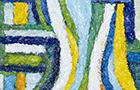 Il pesce narciso - 2013, olio su tela, cm 20x25