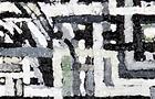 Manuscriptus n.3 - 2011, olio su tela, cm 50x20