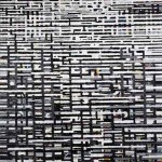 Di fronte - 2007, acrilico e olio su tela, cm 120x80