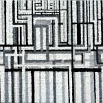 L'architetto al lavoro - 2008, acrilico e olio su tela, cm 70x100