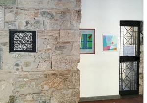 Partitura n°2 in esposizione alla Rocca dei Rettori – Sale medievali a Benevento